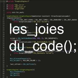 Les joies du code
