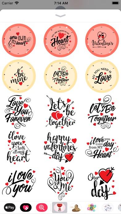 Love & Valentine Message screenshot 5