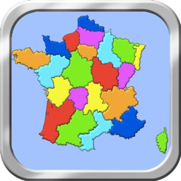France Puzzle Map