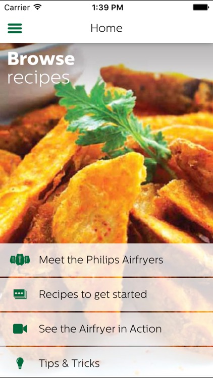 Philips Airfryer screenshot-0