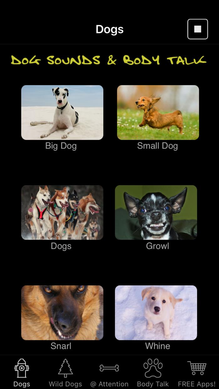 Dog Sounds & Body Talk Screenshot
