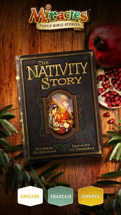 The Nativity Story - Popup Christmas Story about the Birth of Jesus Christ - Mini Edition