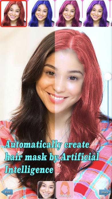 Auto Hair Color Changer screenshot 1