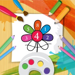 Coloring Books Step by Step Colorfill on Numbers