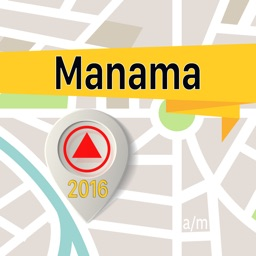 Manama Offline Map Navigator and Guide