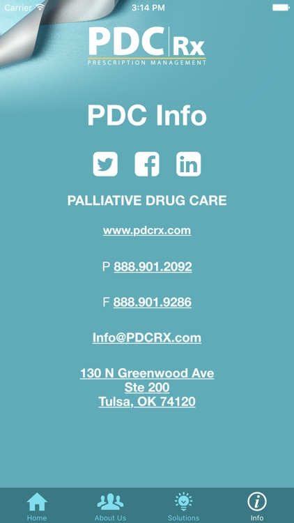 PDC Rx
