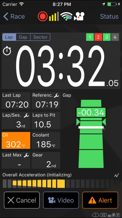 Harry's LapTimer Rookie app image