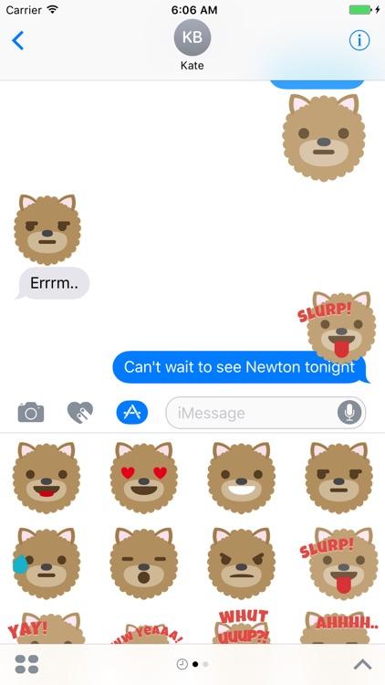 iSticker Friends - Newton