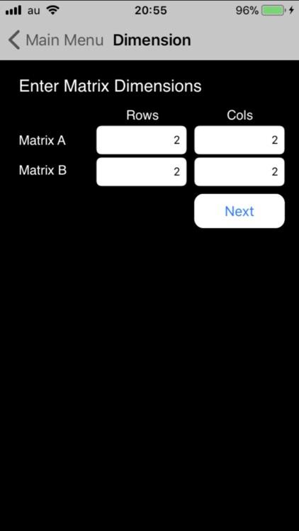 Matrix Calc+