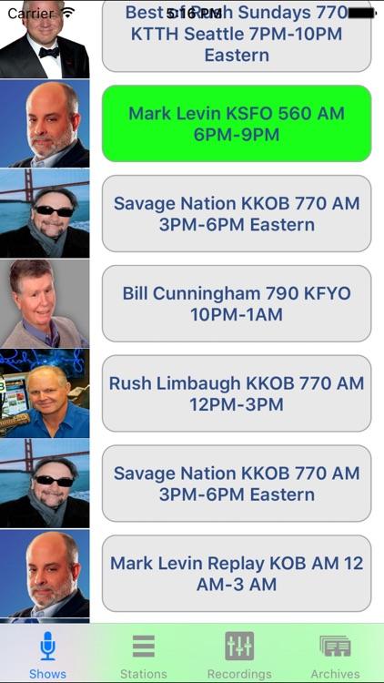 Conservative Talk Radio Live screenshot-3