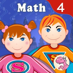 Grade 4 Math Common Core: Cool Kids' Learning Game