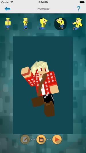 Custom D Boys Skin Editor For Minecraft PEPC On The App Store - Skin editor fur minecraft pe