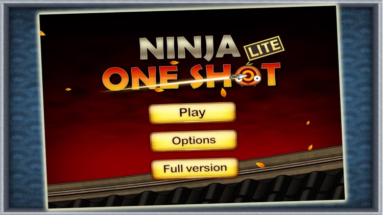 Ninja: One Shot HD Lite