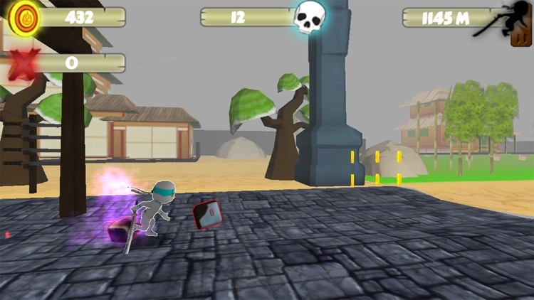 Ninja Zombie Monster Killer -Ninja vs zombie 3D screenshot-4