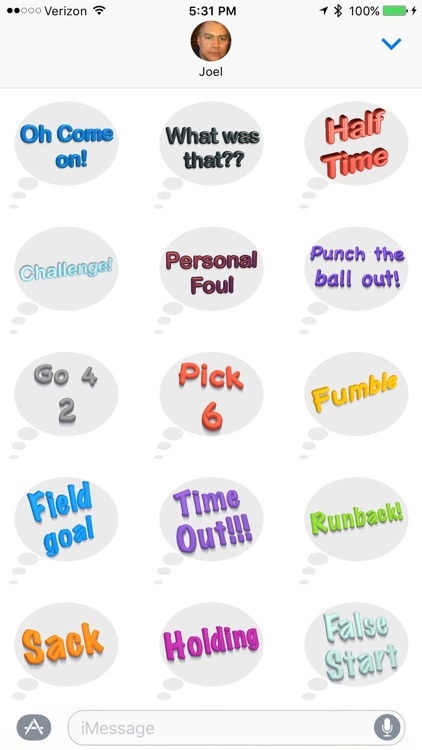 Football Fan - Sticker Pack