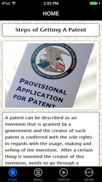 How to Apply for a Patent Made Easy for Beginners screenshot-0