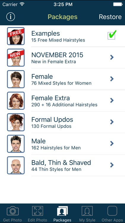 Hairstyle Try On - Hair Styles for Men and Women screenshot-4