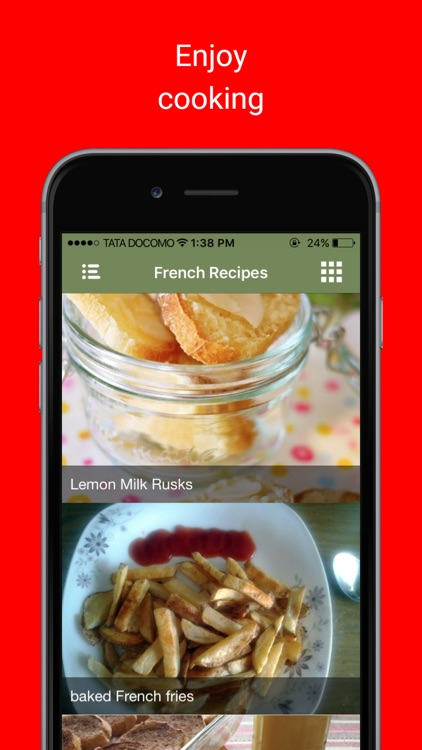 Tasty Cake Recipes: Beginners guide to French Food screenshot-3