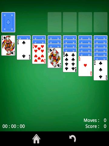 Patience - kaartspel iPad app afbeelding 1