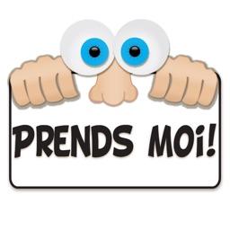 Autocollants pour iMessage en français