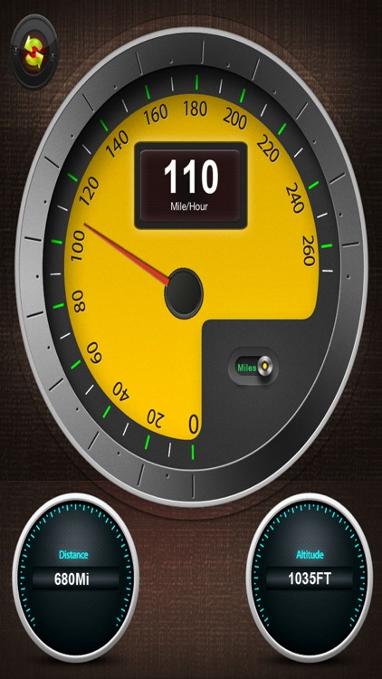 Speedometer - Know your Driving Speed HD screenshot-3