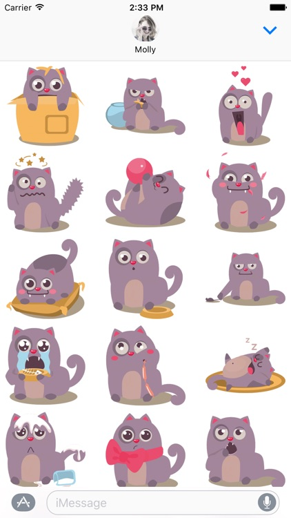 Cat Perfect Pet – Stickers for iMessage
