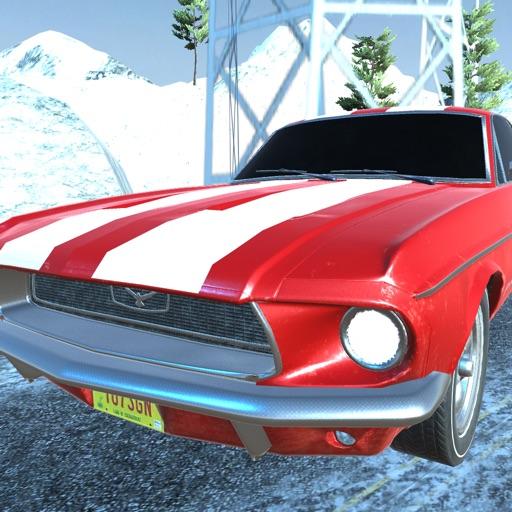 Classic Snow Speed Car Simulator 3D iOS App