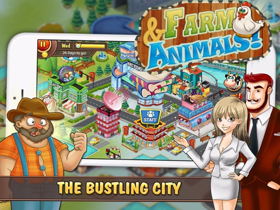 Screenshot #2 for Farm and Animals : Harvesting under the blue moon