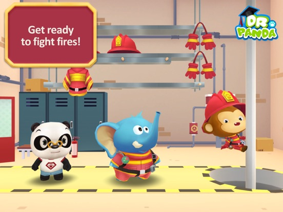 Screenshot #3 for Dr. Panda Firefighters