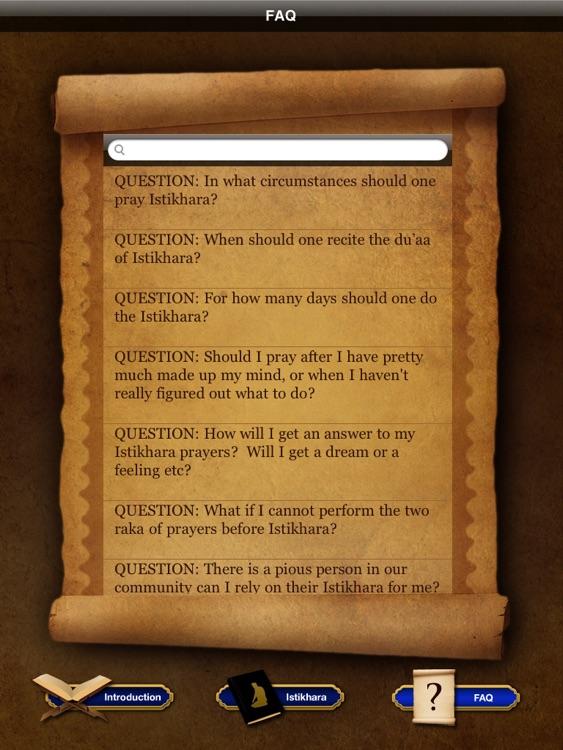 Istikhara duaa - Guidance prayer in Islam For iPad screenshot-3
