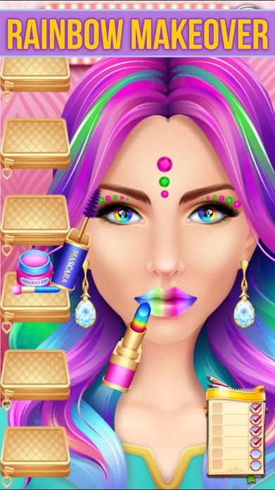 Make Up Makeover Salon Party Screenshot