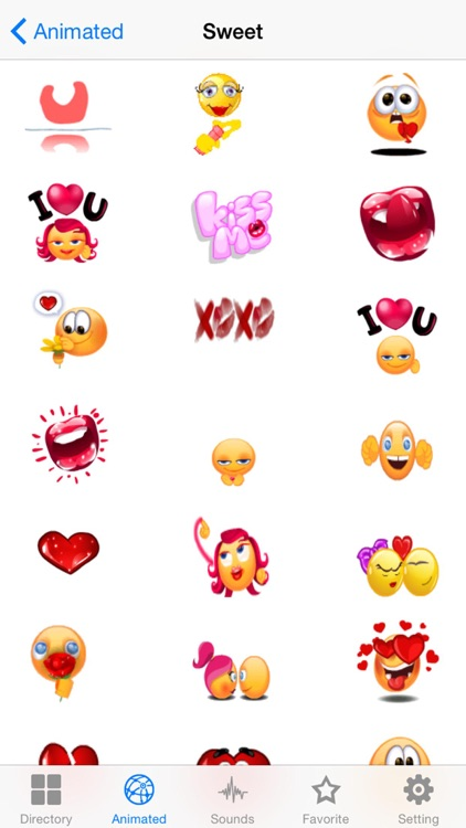 New Emojis & Smileys animated text icons emoticons