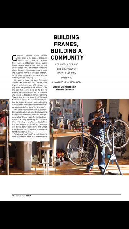 Bicycle Times Magazine screenshot-3