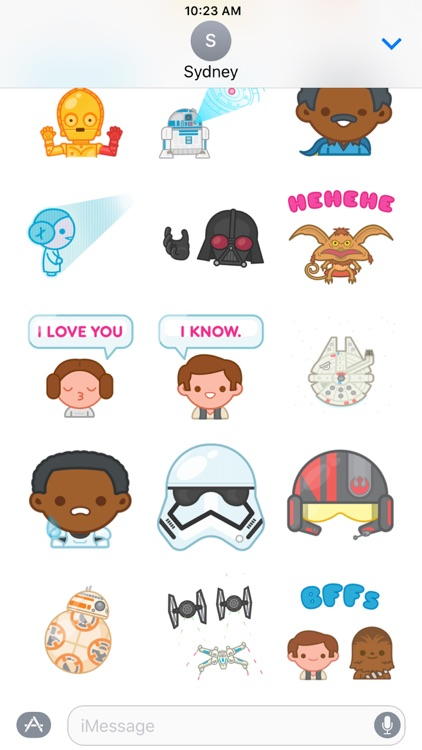 Star Wars Stickers screenshot-2