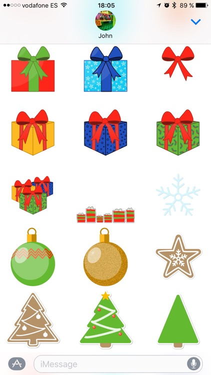 Merry Christmas! Sticker Pack screenshot-4