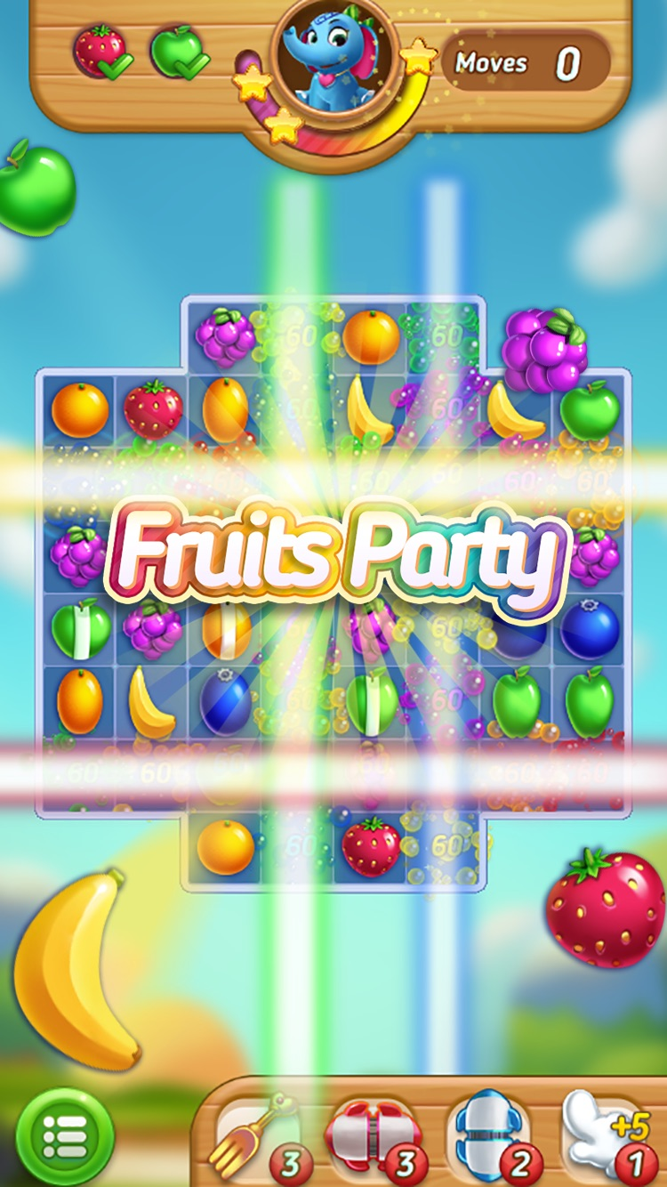 Fruits Mania : Elly's travel Screenshot