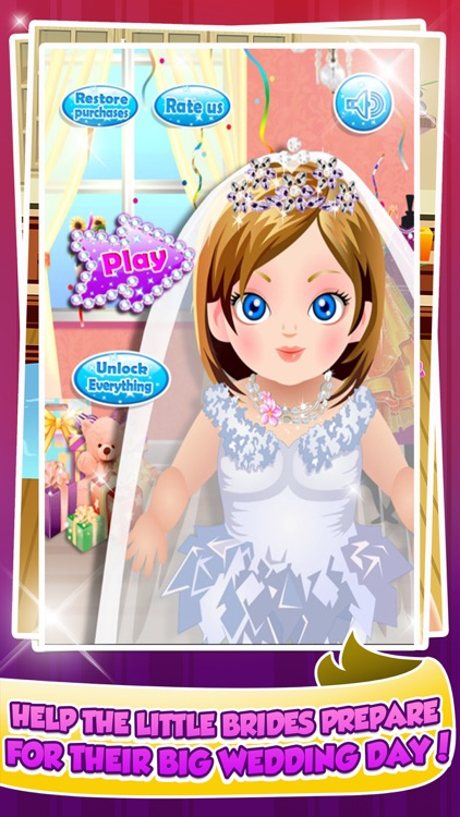 Wedding Salon Spa Makeover Make-Up Games screenshot-0