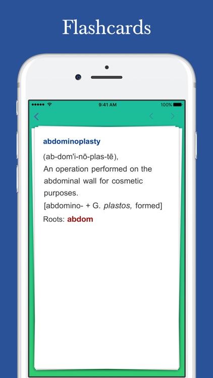 Medical Roots Dictionary screenshot-7