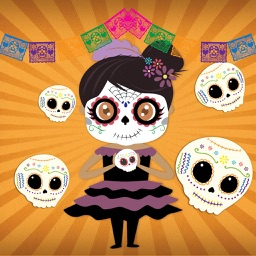 Dulce's Day of the Dead Stickers