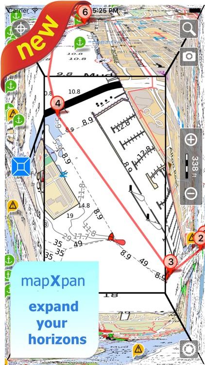 Aqua Map Pennsylvania Lakes HD screenshot-3