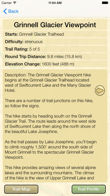 Hiking Glacier National Park screenshot-4