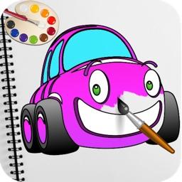Coloring Book: Car Color Book
