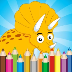 Activities of Dinosaur Coloring Book - Free For Toddler And Kids
