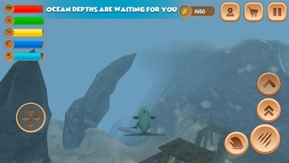 Beluga Whale Simulator screenshot one