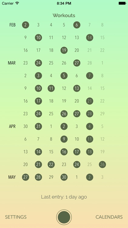 Dayly Calendar screenshot-0