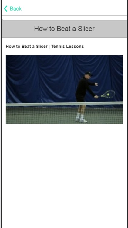 Tennis Tips - Simple Way to Improve Your Game screenshot-4