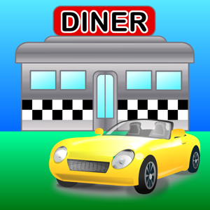 Locator for Diners, Drive-ins and Dives by MapMuse app