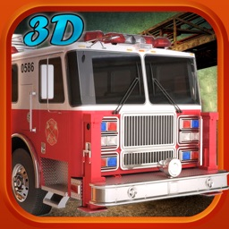 Fire Fighter Truck Driver Real Hero 3D Simulator