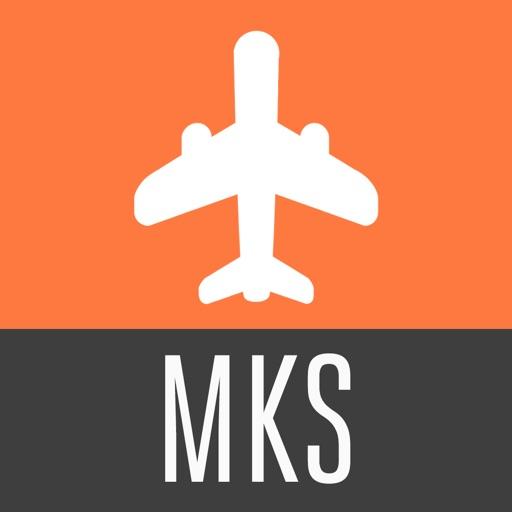 Mykonos Travel Guide and Offline City Street Map