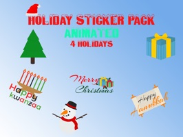 Holiday Sticker Pack - Animated